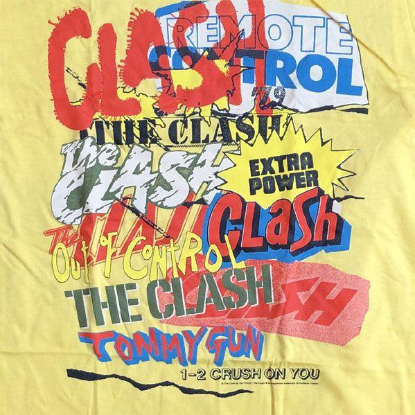 THE CLASH Tシャツ SINGLE COLLAGE オフィシャル