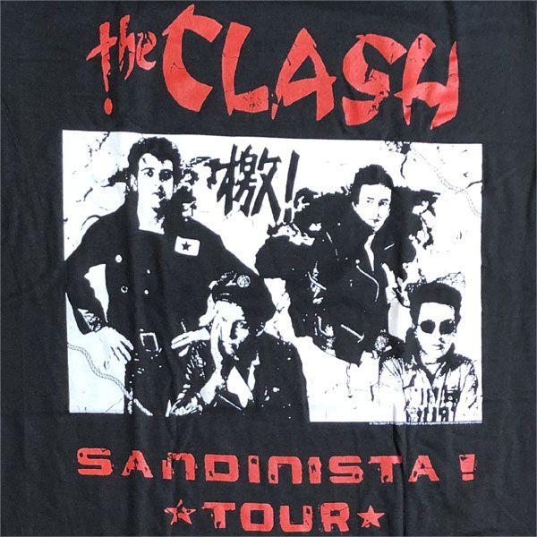 THE CLASH Tシャツ SANDINISTA TOUR