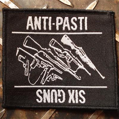 ANTI-PASTI 刺繍レアワッペン SIX GUNS