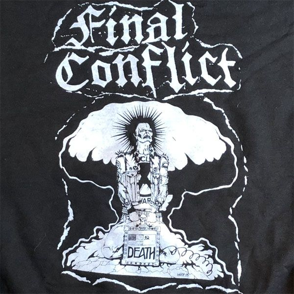 FINAL CONFLICT スウェット DEATH