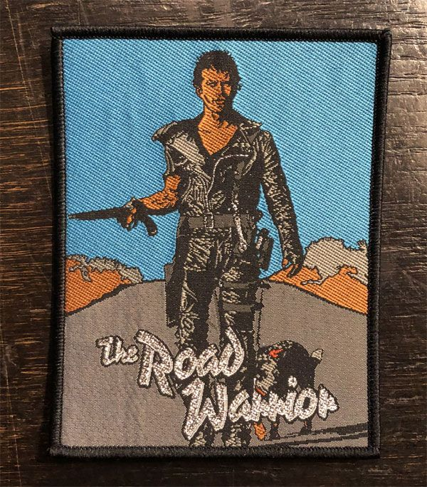 MAD MAX 刺繍ワッペン THE ROAD WARRIOR