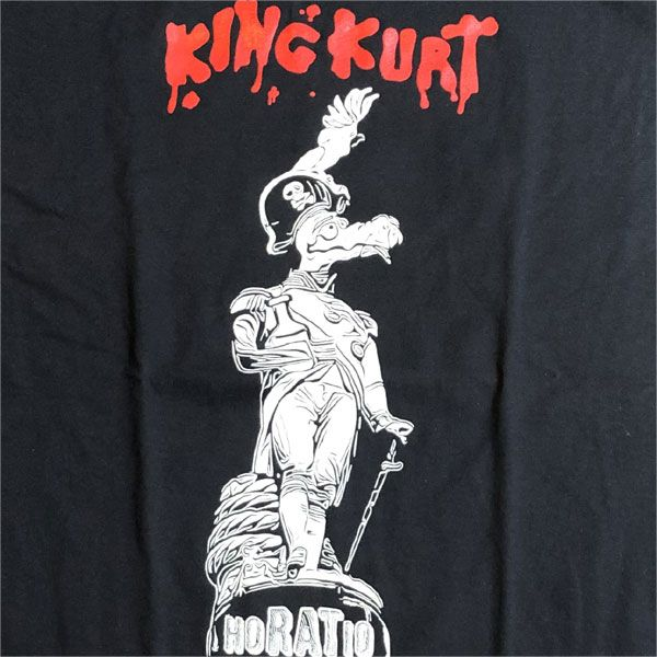 KING KURT Tシャツ Horatio BLACK