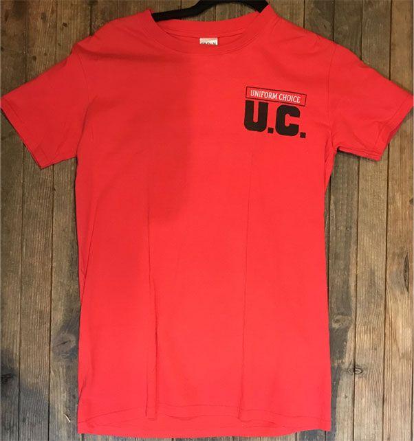 USED! UNIFORM CHOICE Tシャツ LOGO