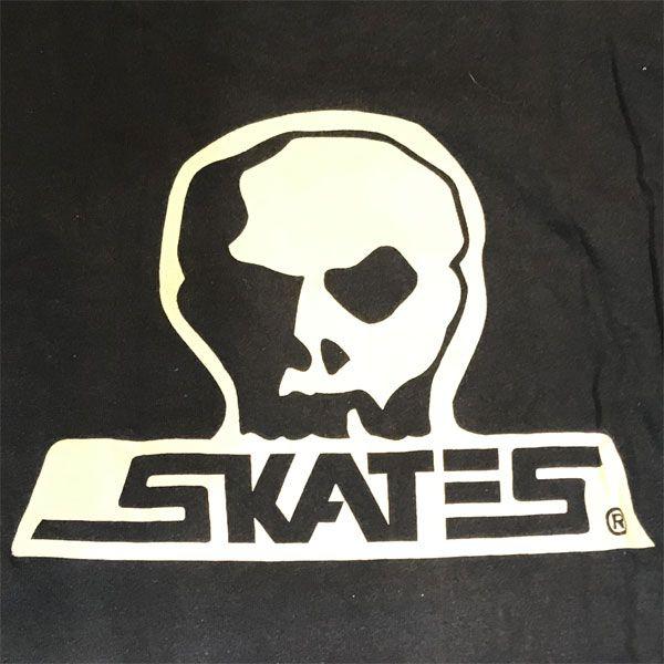 USED! SKULL SKATES ロングスリーブTシャツ NAVY