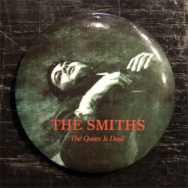 THE SMITHS レアデカバッジ the queen is dead