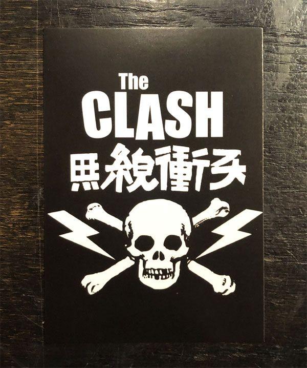 THE CLASH ポストカード 無線衝突