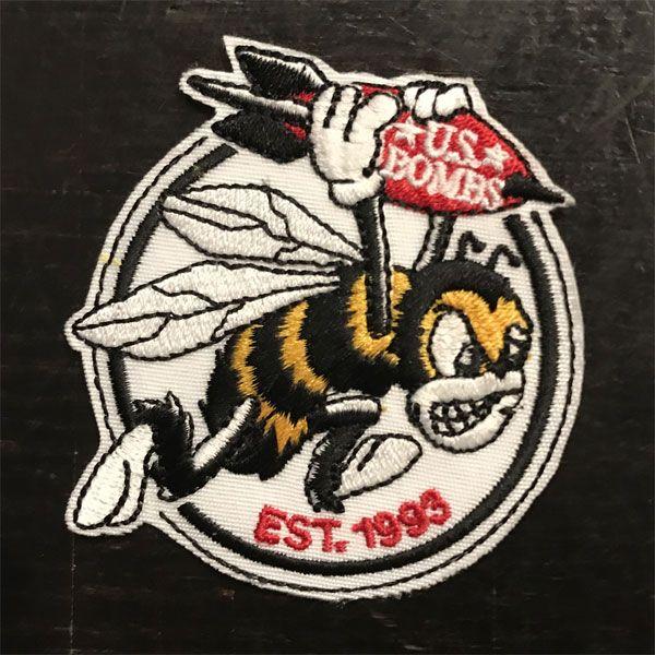 US BOMBS 刺繍ワッペン