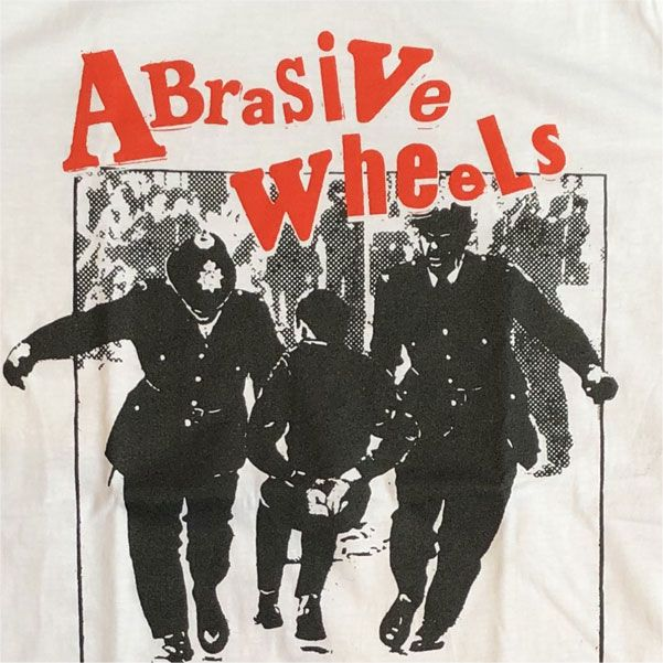 ABRASIVE WHEELS Tシャツ POLICE オフィシャル!