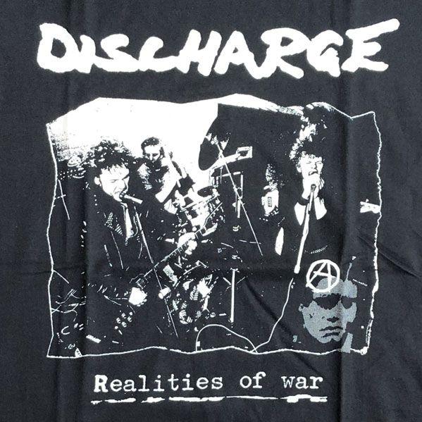DISCHARGE Tシャツ REALITIES OF WAR オフィシャル