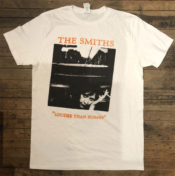 B品 THE SMITHS Tシャツ louder than bombs