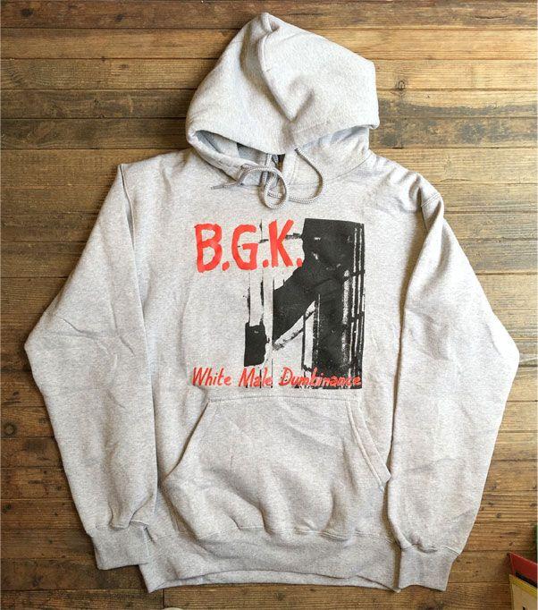 B.G.K. パーカー White Male Dumbinance