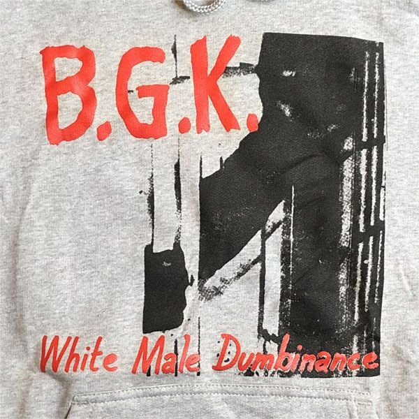 B.G.K. パーカー White Male Dumbinance