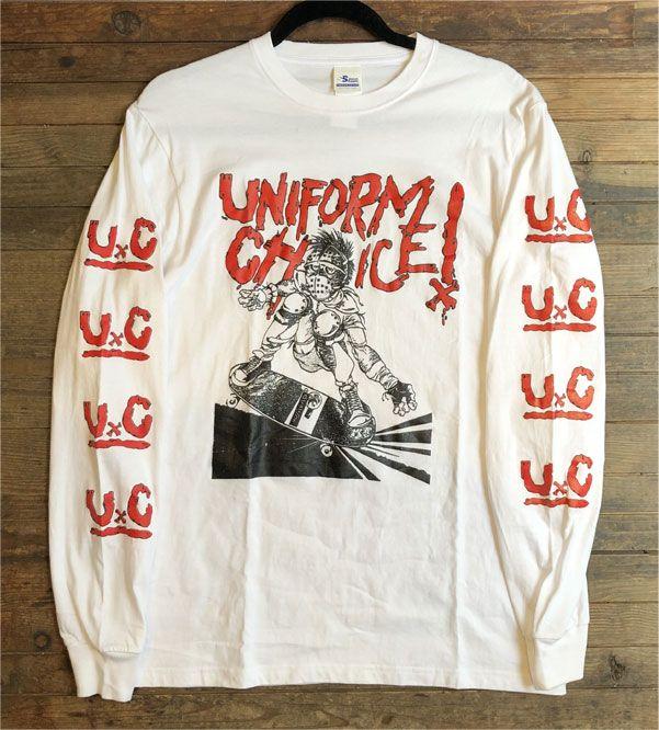 UNIFORM CHOICE ロングスリーブTシャツ FLYER 84