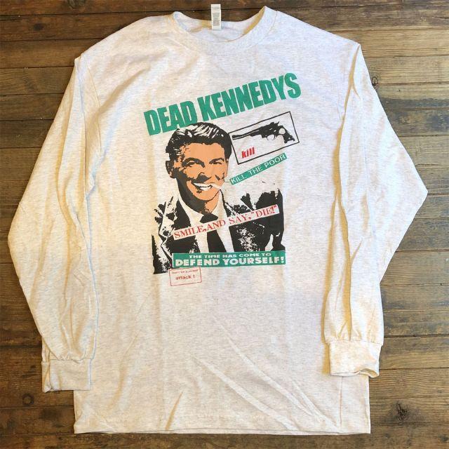 DEAD KENNEDYS ロングスリーブTシャツ KILL THE POOR