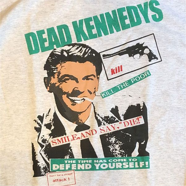 DEAD KENNEDYS ロングスリーブTシャツ KILL THE POOR