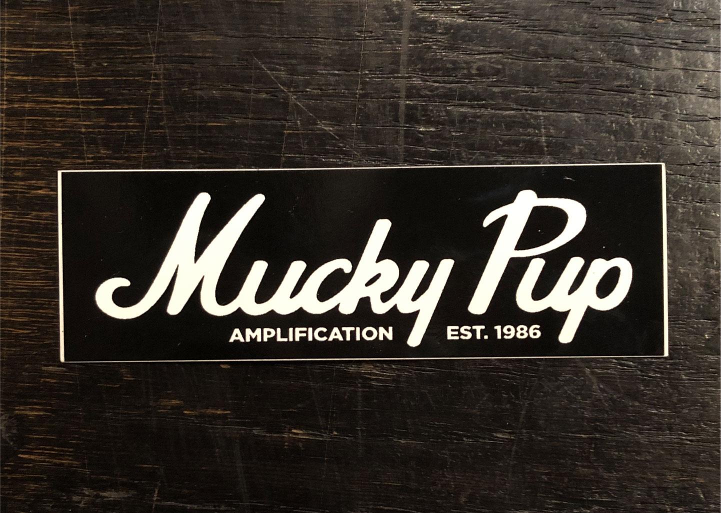 MUCKY PUP ステッカー LOGO