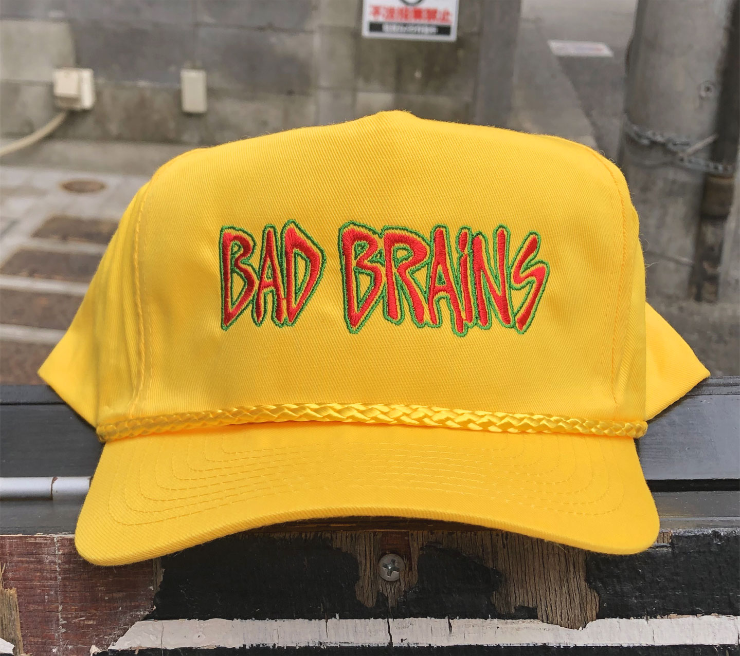 BAD BRAINS CAP LOGO2