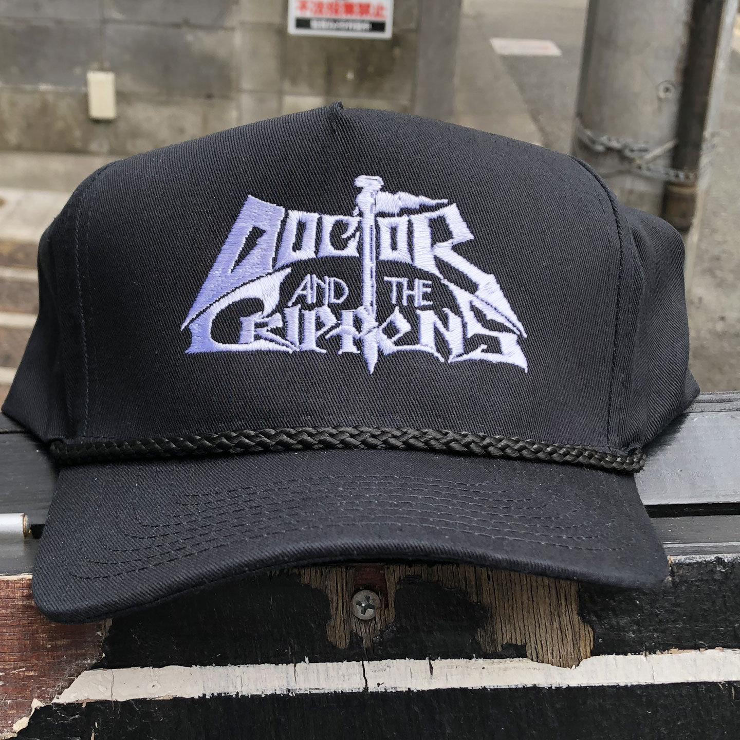 DOCTOR AND THE CRIPPENS CAP LOGO