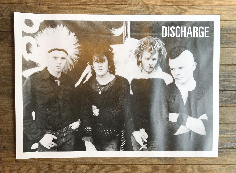 DISCHARGE ポスター オフィシャル