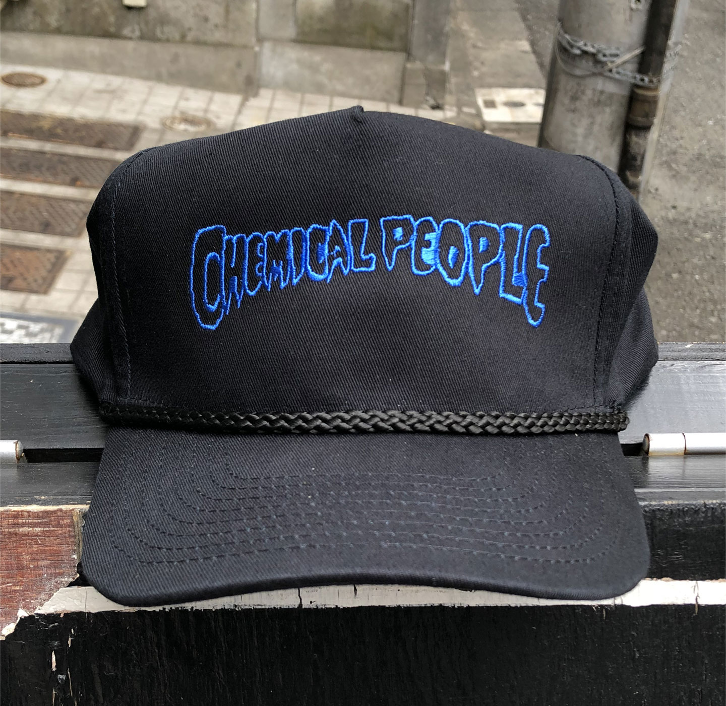 CHEMICAL PEOPLE CAP LOGO