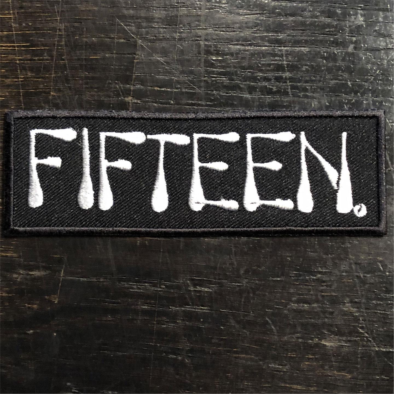 FIFTEEN 刺繍ワッペン