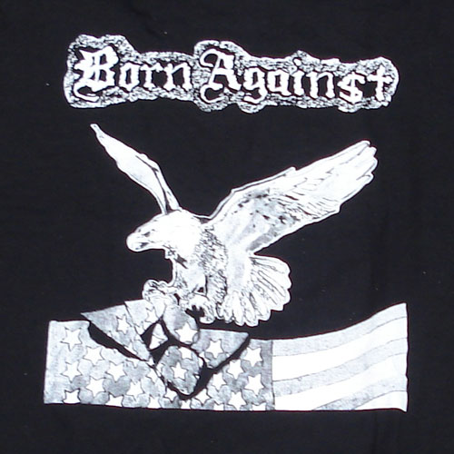 BORN AGAINST Tシャツ EAGLE