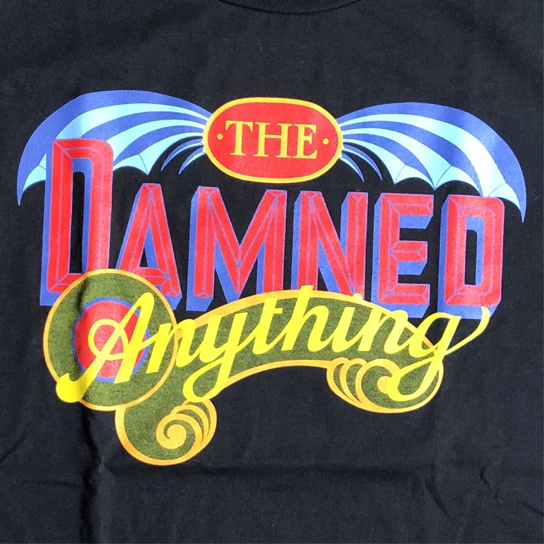 THE DAMNED Tシャツ ANYTHING オフィシャル