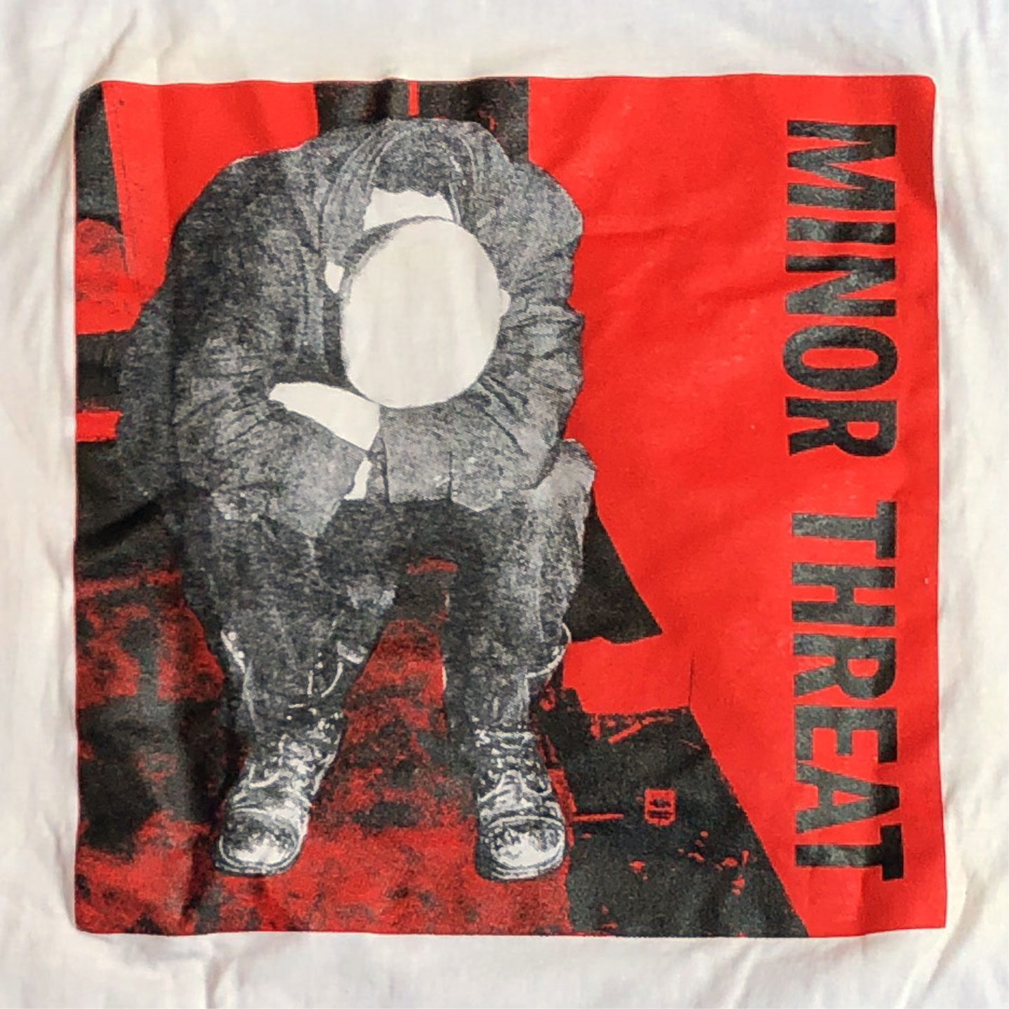 MINOR THREAT Tシャツ FRONT AND BACK