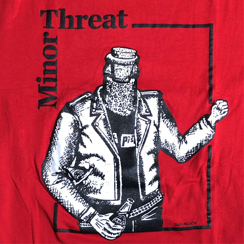MINOR THREAT Tシャツ BOTTLED VIOLENCE2