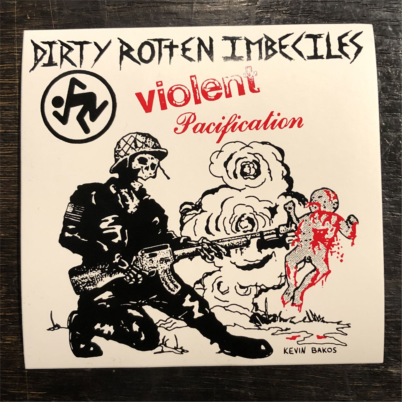D.R.I. ステッカー Violent Pacification