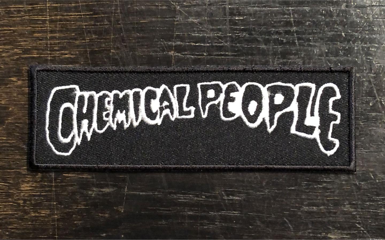 CHEMICAL PEOPLE 刺繍ワッペン LOGO
