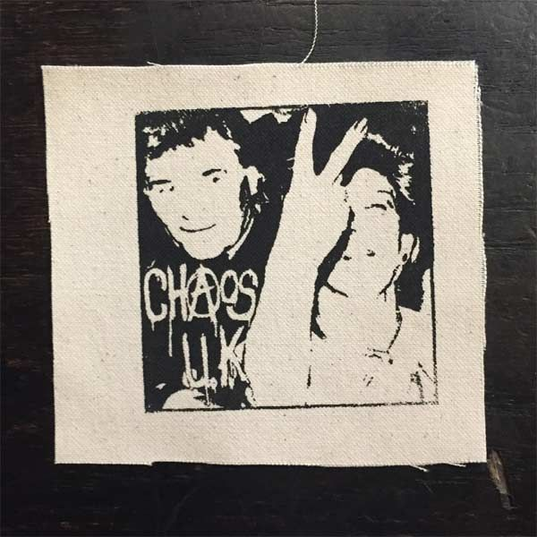 CHAOS UK PATCH Chipping Sodbury Bonfire Tapes