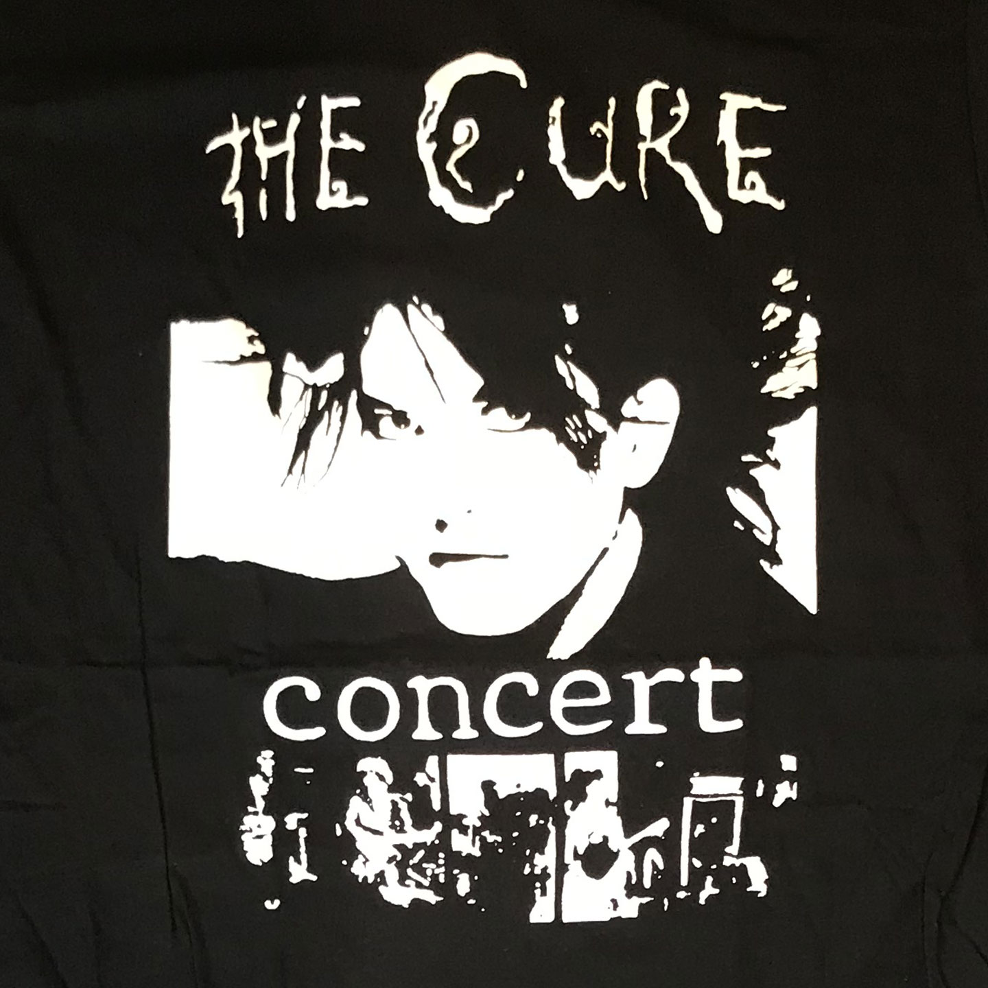 THE CURE Tシャツ concert