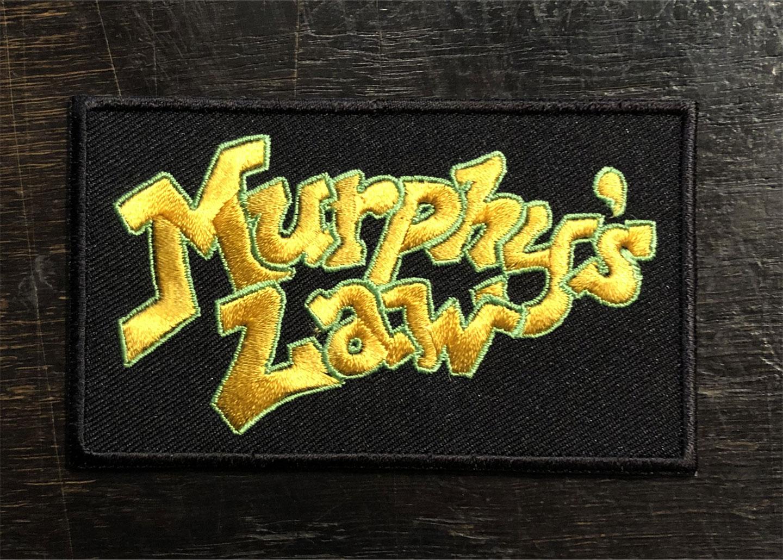 MURPHY'S LAW 刺繍ワッペン LOGO