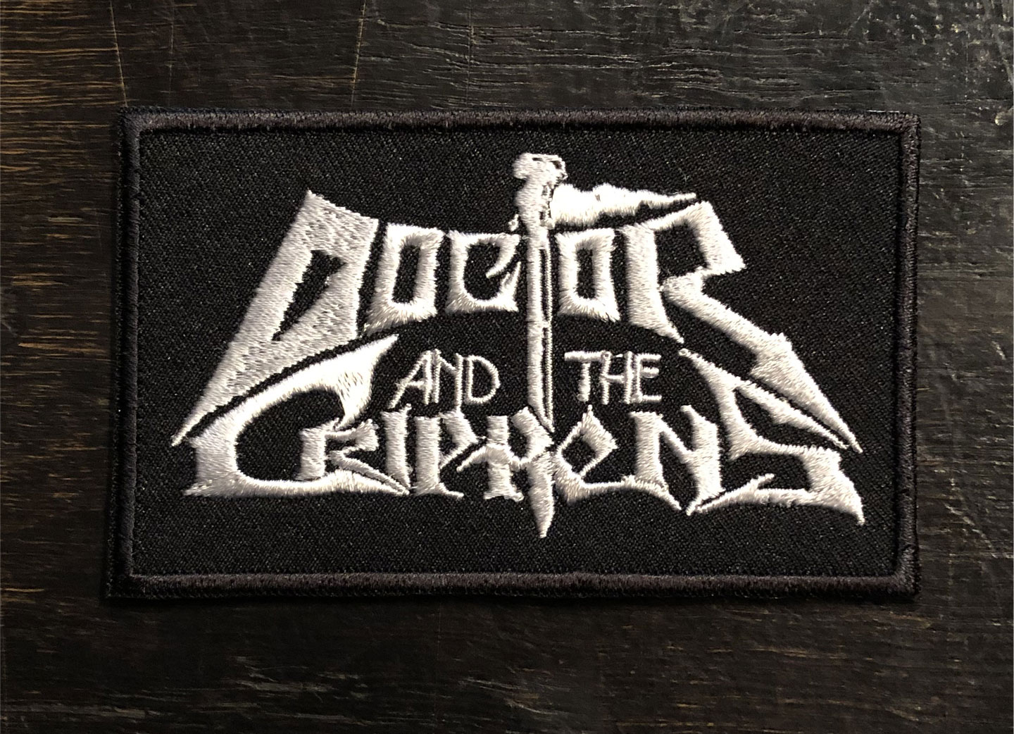 DOCTOR AND THE CRIPPENS 刺繍ワッペン LOGO