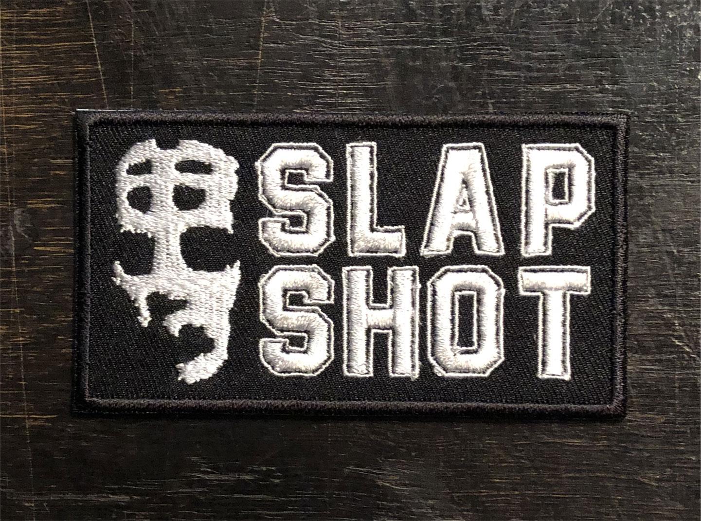SLAP SHOT 刺繍ワッペン LOGO