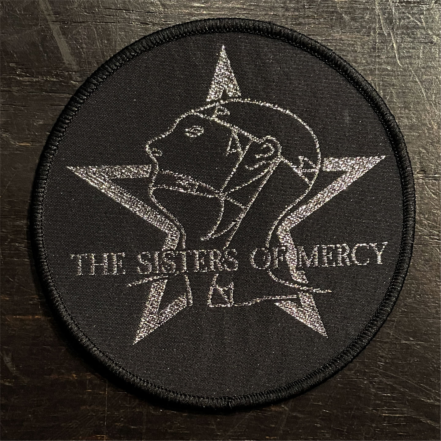 THE SISTER OF MERCY 刺繍ワッペン