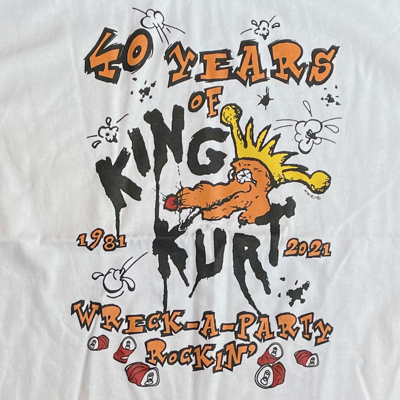 KING KURT Tシャツ 40YEARS オフィシャル