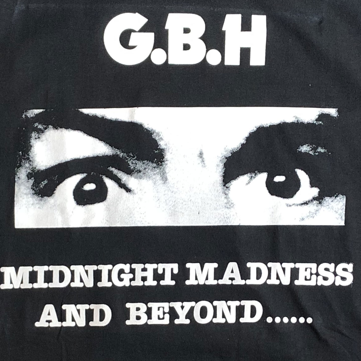 G.B.H Tシャツ MIDNIGHT MADNESS AND BEYOND...2