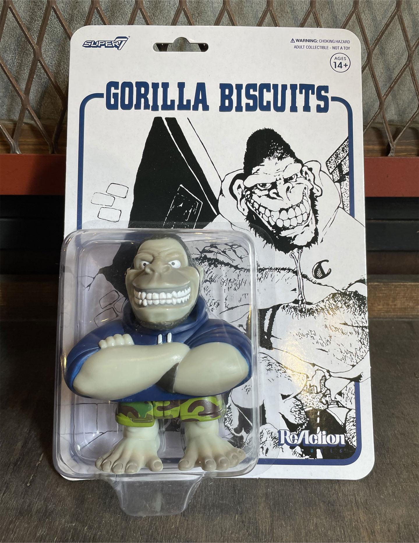 GORILLA BISCUITS x SUPER 7 リアクションフィギュア