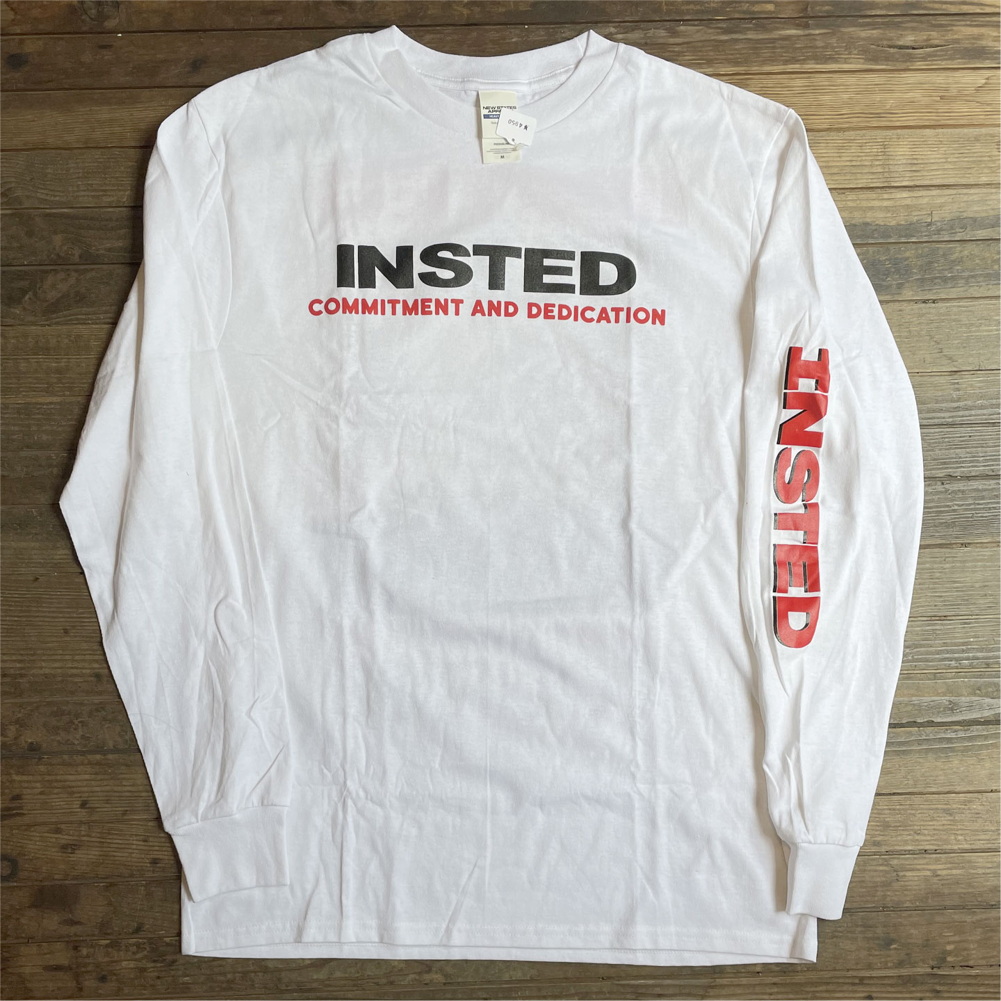INSTED ロングスリーブTシャツ TOUR88