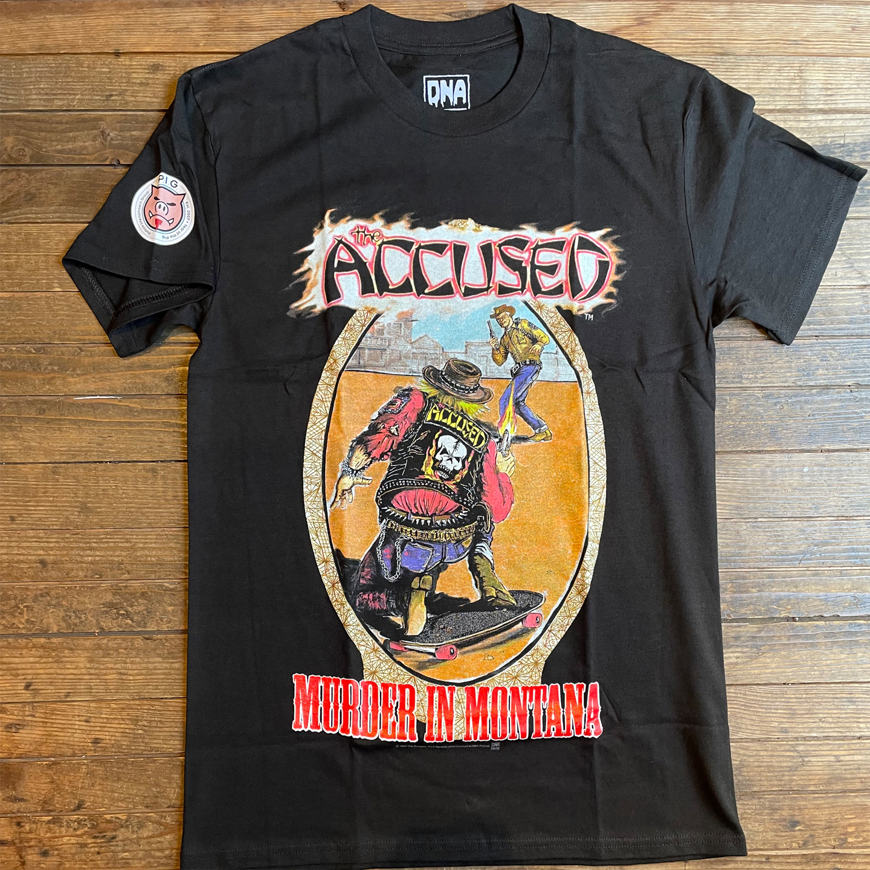 ACCUSED Tシャツ MURDER IN MONTANA オフィシャル!!