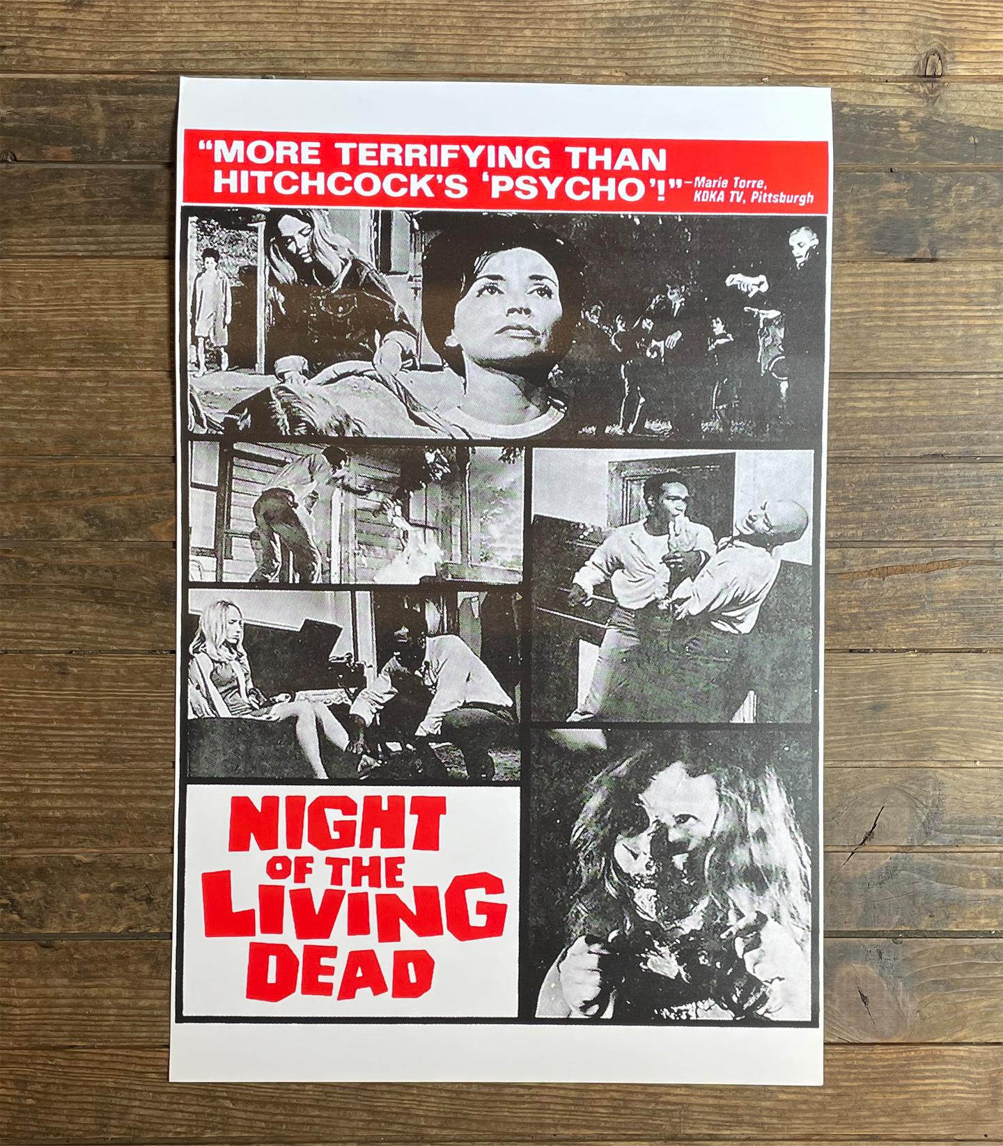 NIGHT OF THE LIVING DEAD ポスター