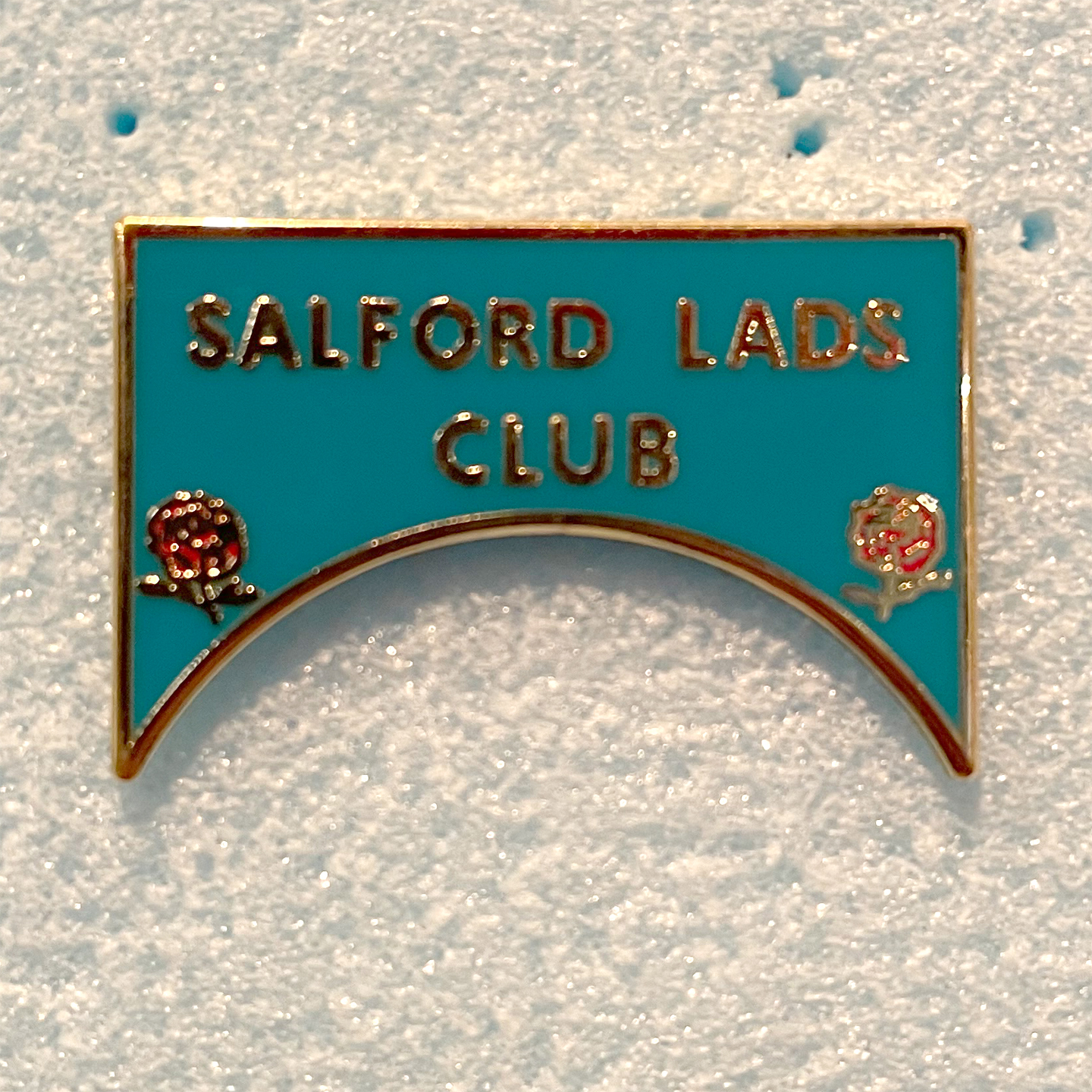 THE SMITHS ピンバッジ SALFORD LADS CLUB