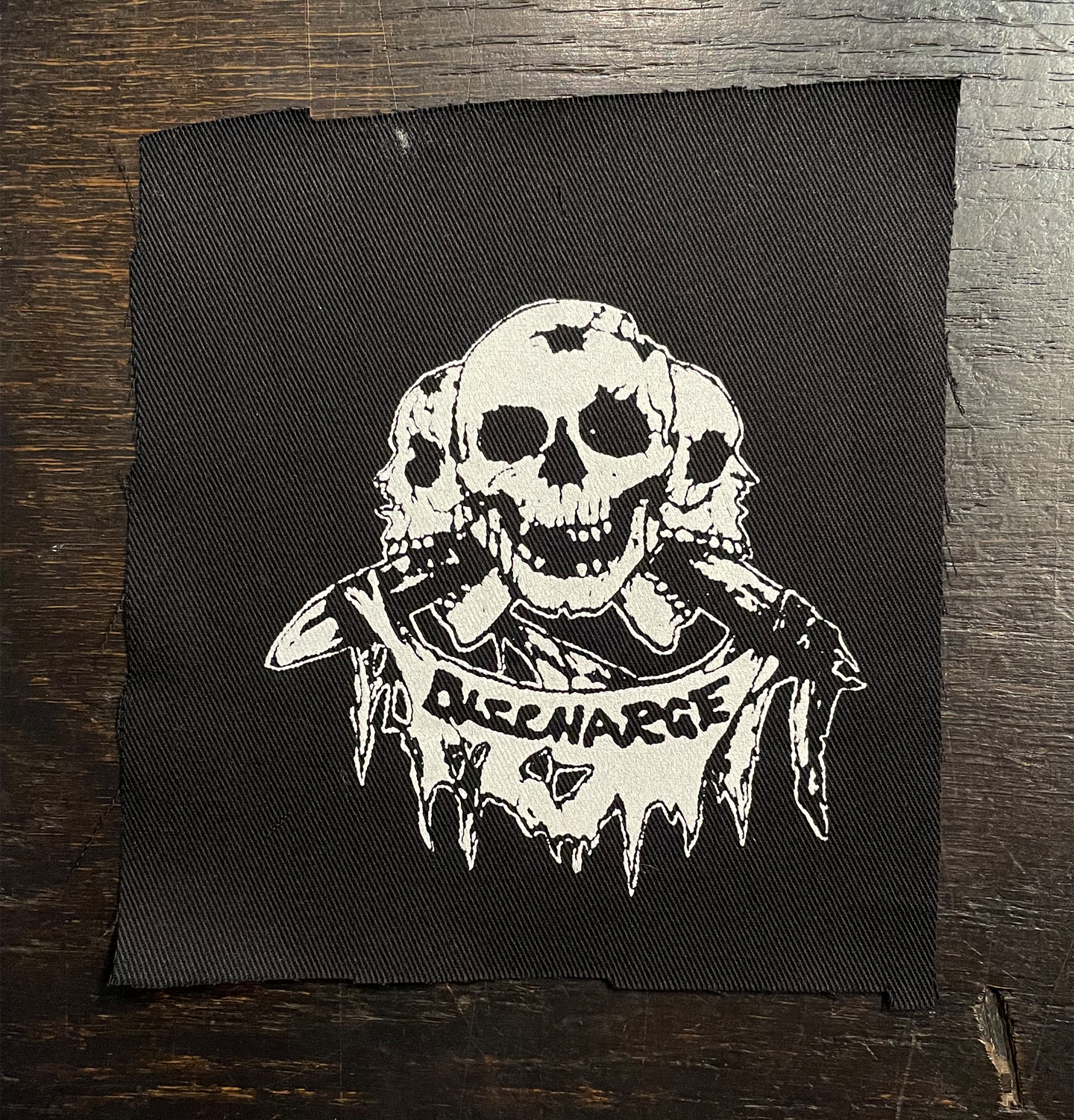 DISCHARGE PATCH PRICE OF SILENCE