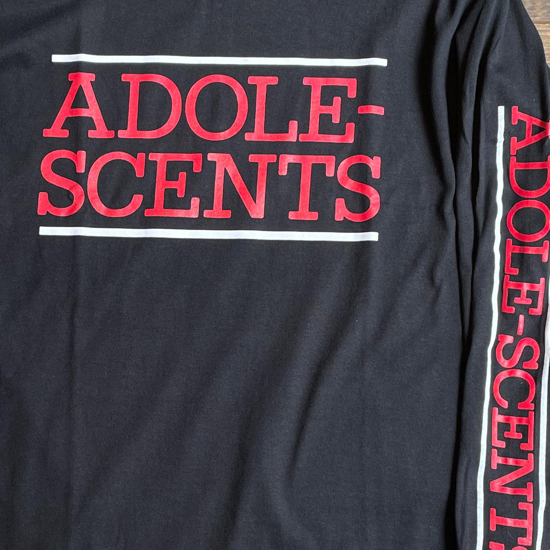 ADOLESCENTS ロングスリーブTシャツ LOGO オフィシャル!
