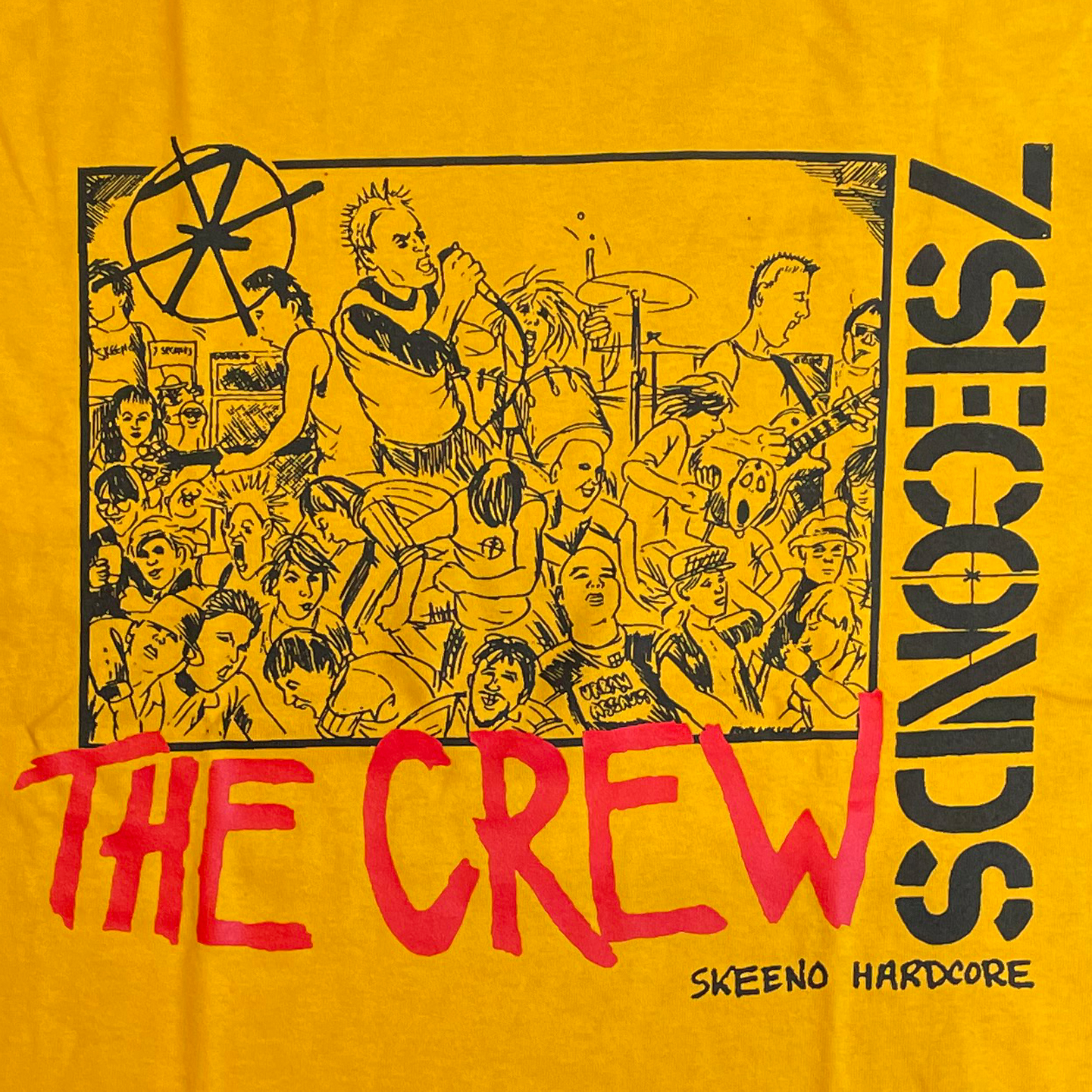 7SECONDS Tシャツ Walsby Crew オフィシャル!