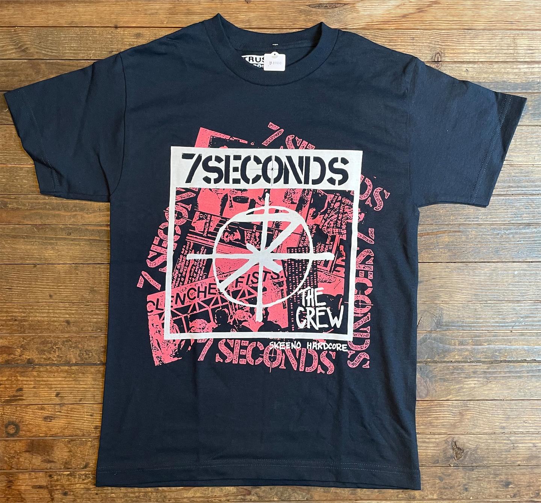7SECONDS Tシャツ Collage オフィシャル!