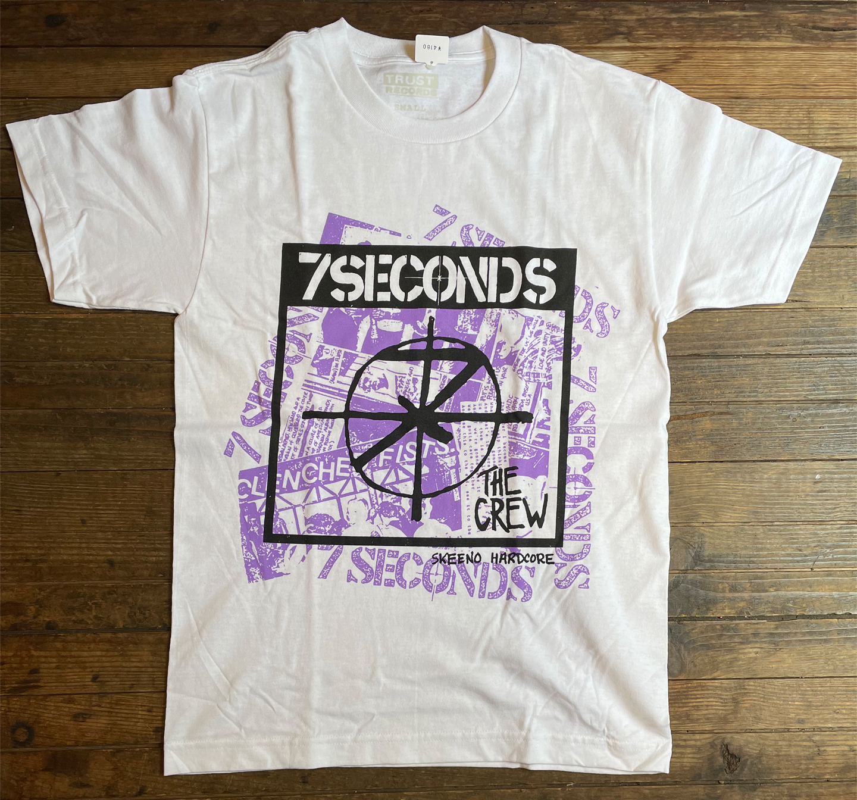 7SECONDS Tシャツ Collage White オフィシャル!