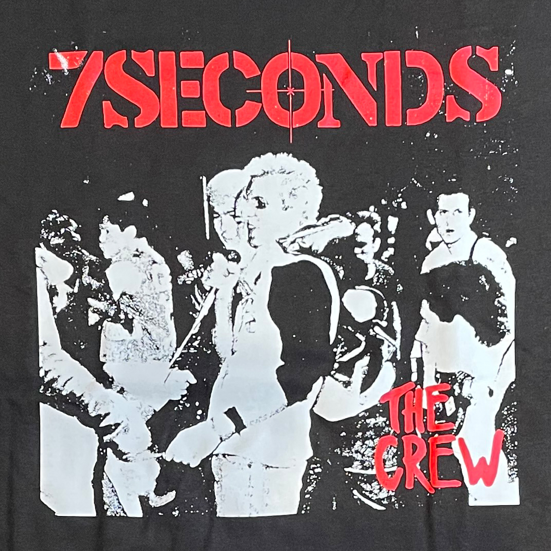 7SECONDS Tシャツ THE CREW black オフィシャル!
